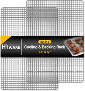 Hiware 2-Pack Cooling Racks for Baking - 8.5