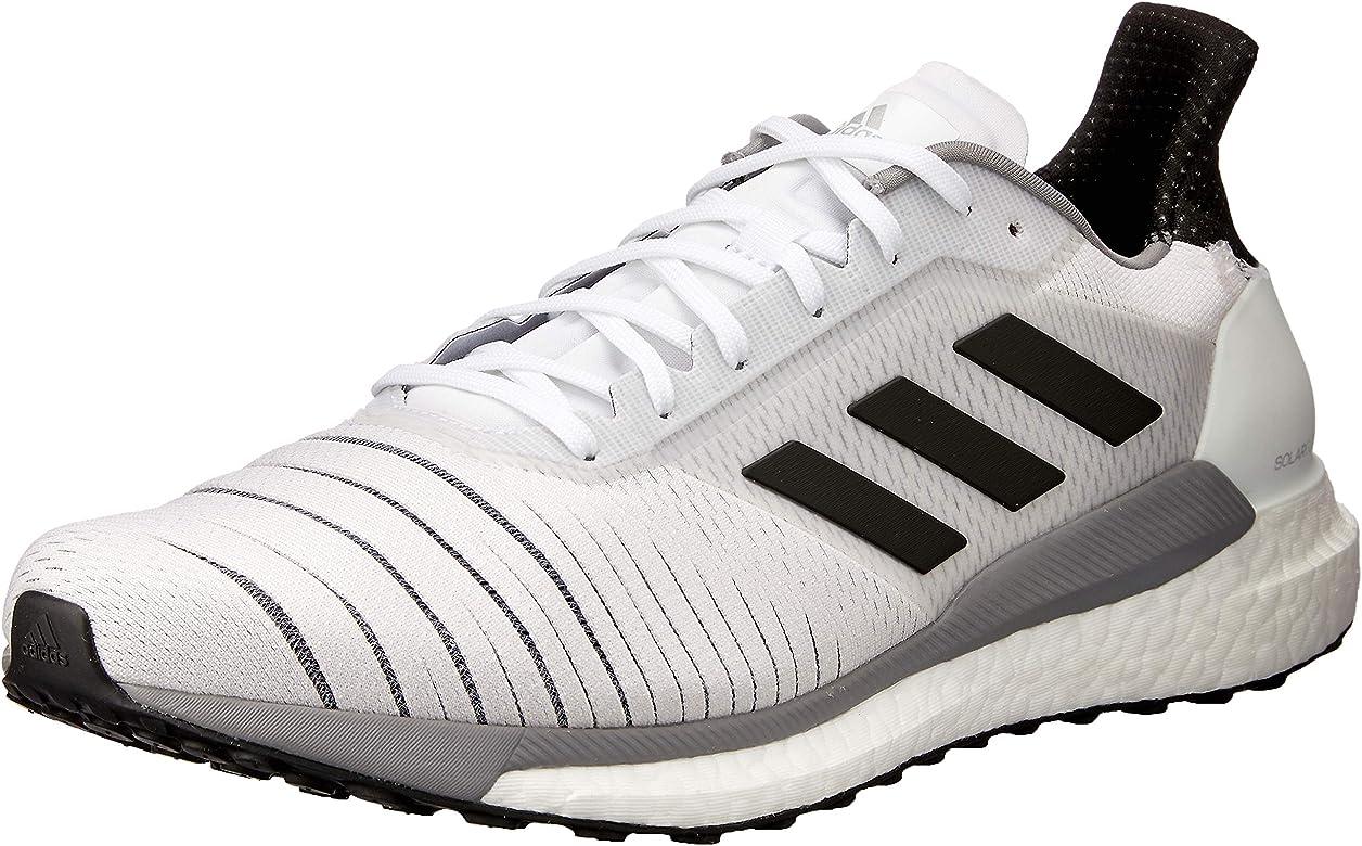 adidas Solar Glide M, Zapatillas de Deporte para Hombre, Blanco (Ftwbla/Negbás/Gritre 000), 40 2/3 EU: Amazon.es: Zapatos y complementos