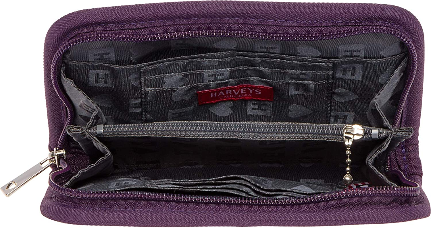 834bb27d67d0 Harveys Womens Seatbelt Full Wallet (Amethyst) at Amazon Women s Clothing  store