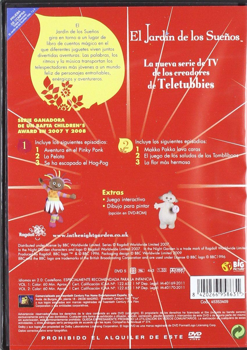 Amazon Com Pack El Jardin De Los Suenos Vols 1 2 Import Movie