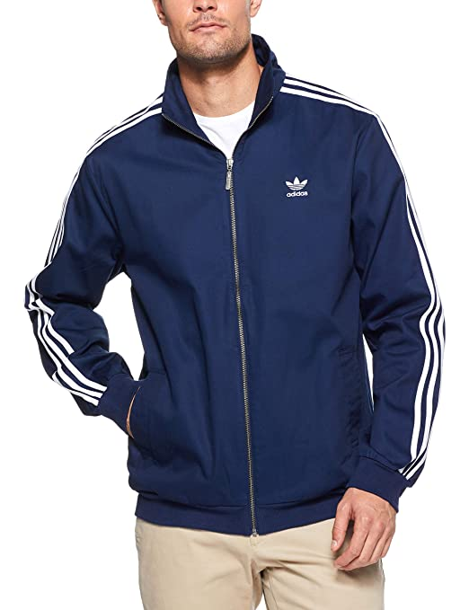 5753e6e60a30 adidas Men s Woven Track Jacket  Amazon.co.uk  Sports   Outdoors