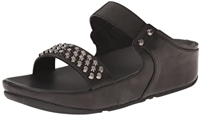 35eec9226dc0b4 FitFlop Women s Amsterdam Studded Slide