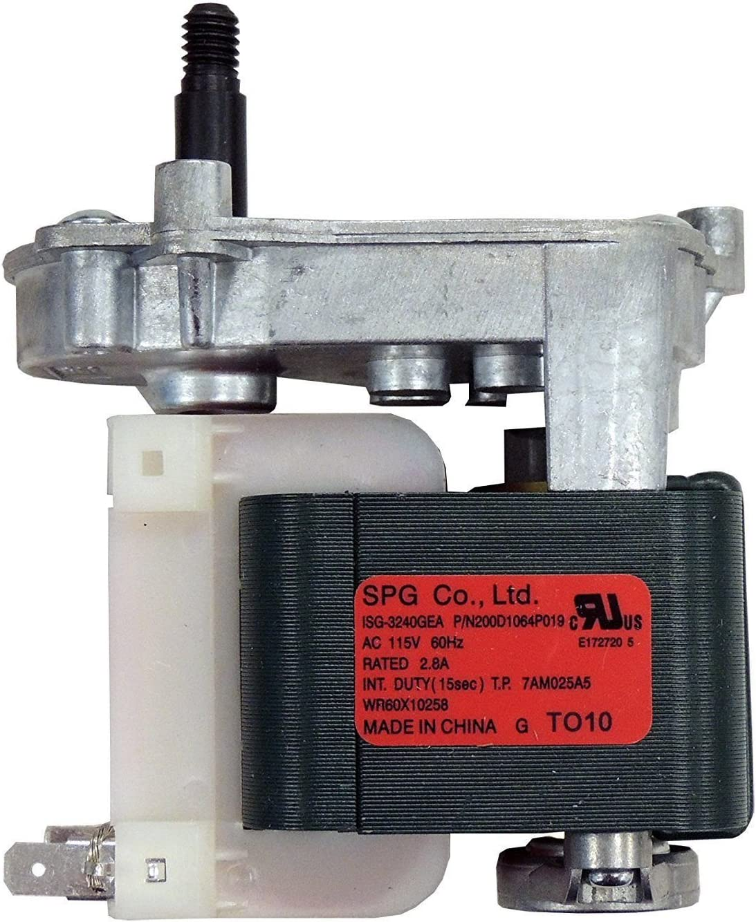 (RB) WR60X10258 Ice cruscher Auger Motor for Refrigerator GE, Hotpoint