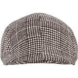FabSeasons Checkered Golf Flat Cap