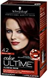 Schwarzkopf Ultime Hair Color Cream, 4.2 Mahogany Red, 2.03 Ounce