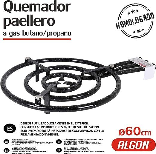 Algon 8435133898293 Quemador Paellero, Esmaltado: Amazon.es ...