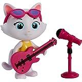 Bandai México 44 Gatos Milady con su Guitarra Figura articulada