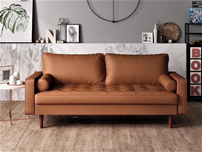 US Pride Furniture Sofa Brown