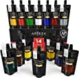 Arteza Acrylic Paint Set, 14 Colors/Pouches (120 ml/4.06 oz.) with Storage Box, Rich, Pigments, Non Fading, Non Toxic for the Professional Artist, Hobby Painters & Kids
