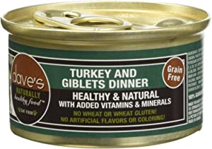 Dave'S Pet Food Naturally Healthy Grain Free Wet Canned Cat Food