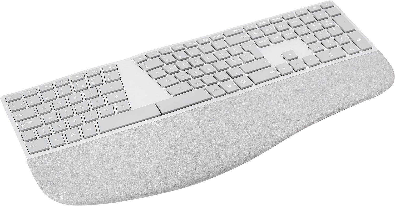 Grey Microsoft Surface Desktop English Bluethooth Keyboard