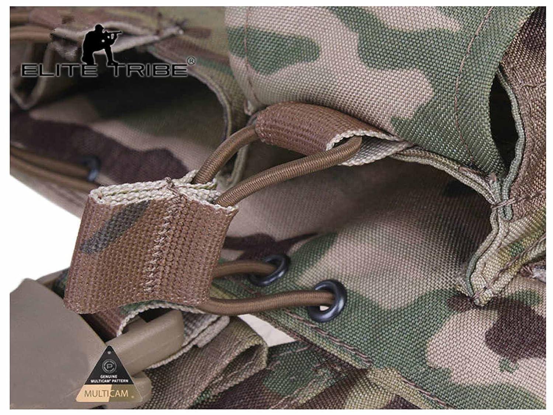 Tactique Gilet Easy Chest Rig Militaire Gilet de Transporteur Multicam