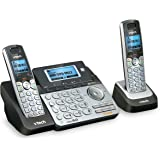 VTech DS6151-2 2 Handset 2-Line Cordless Phone System for Home or Small Business with Digital Answering System & Mailbox on E