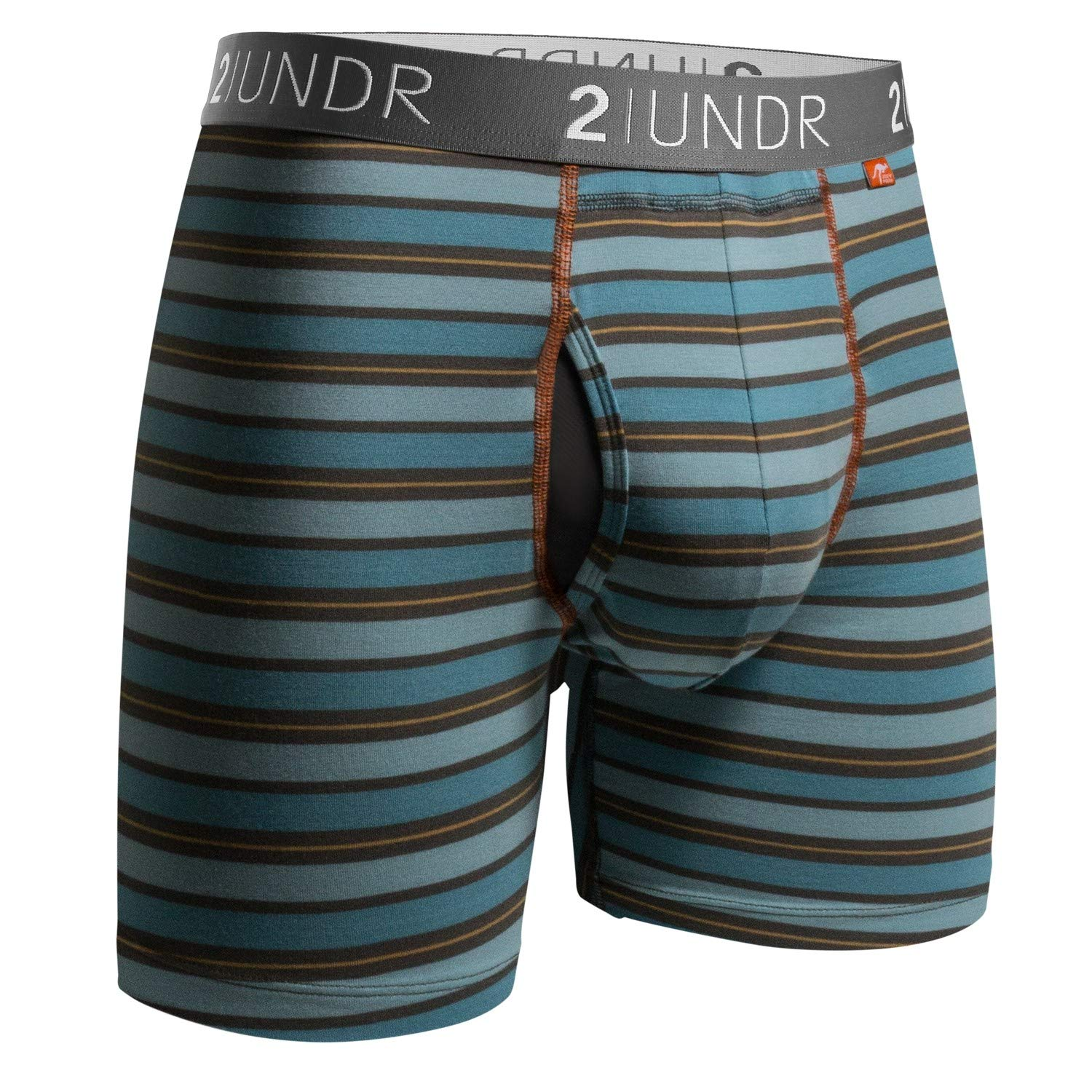 One Junior Boys Franklin and Marshall 2 Pack Trunk Boxer Shorts in Black Grey
