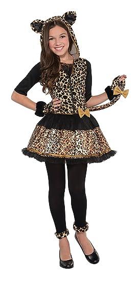 Leopardo Disfraz para audaces, Lunares, niñas, 14 -16 años ...