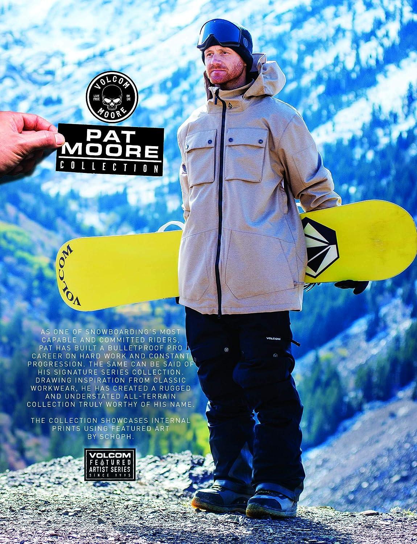 Volcom Mens Pat Moore 2 Layer Stretch Snow Pant