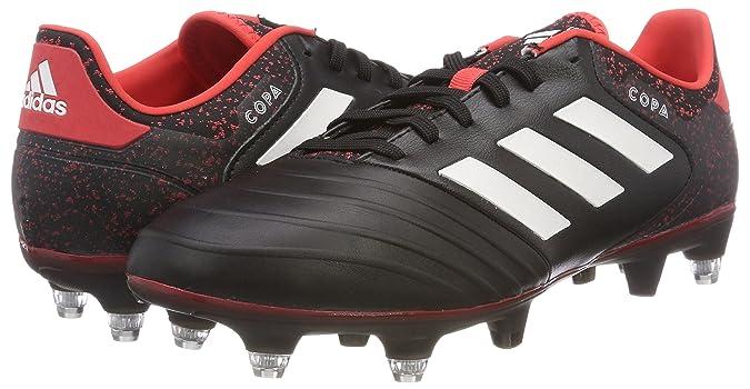 Adidas Copa 18.2 Sg Schwarz Real Coral Schuhe Für Herren