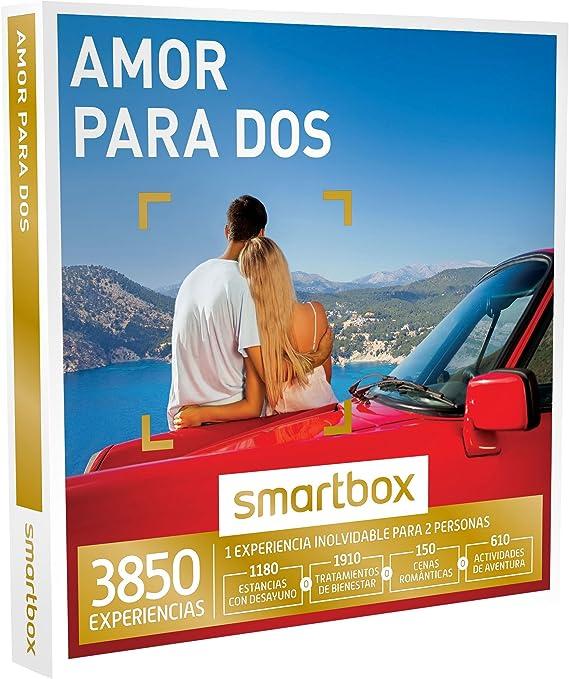 Smartbox /¡Feliz a/ño Nuevo! Caja Regalo Amor para Parejas 1 Experiencia de Bienestar Ideas Regalos Originales gastronom/ía o Aventura para 2 Personas