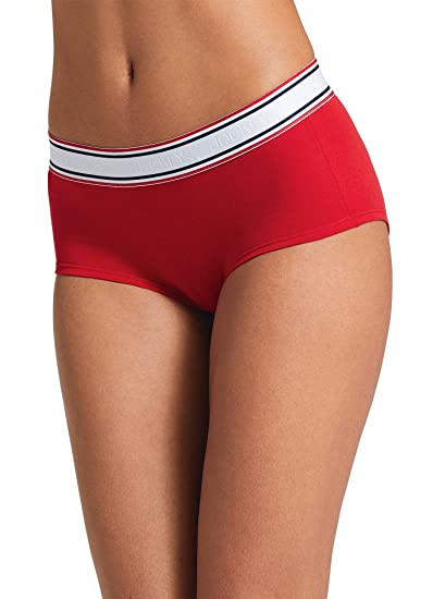 2113e05d1113 Jockey Women's Underwear Retro Stripe Hip Hugger at Amazon Women's ...