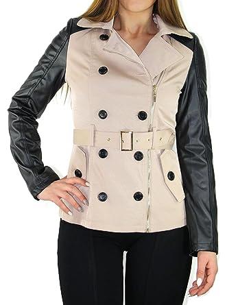 Osley #712 Trenchcoat Damen Mantel Jacke Übergang Parka 36