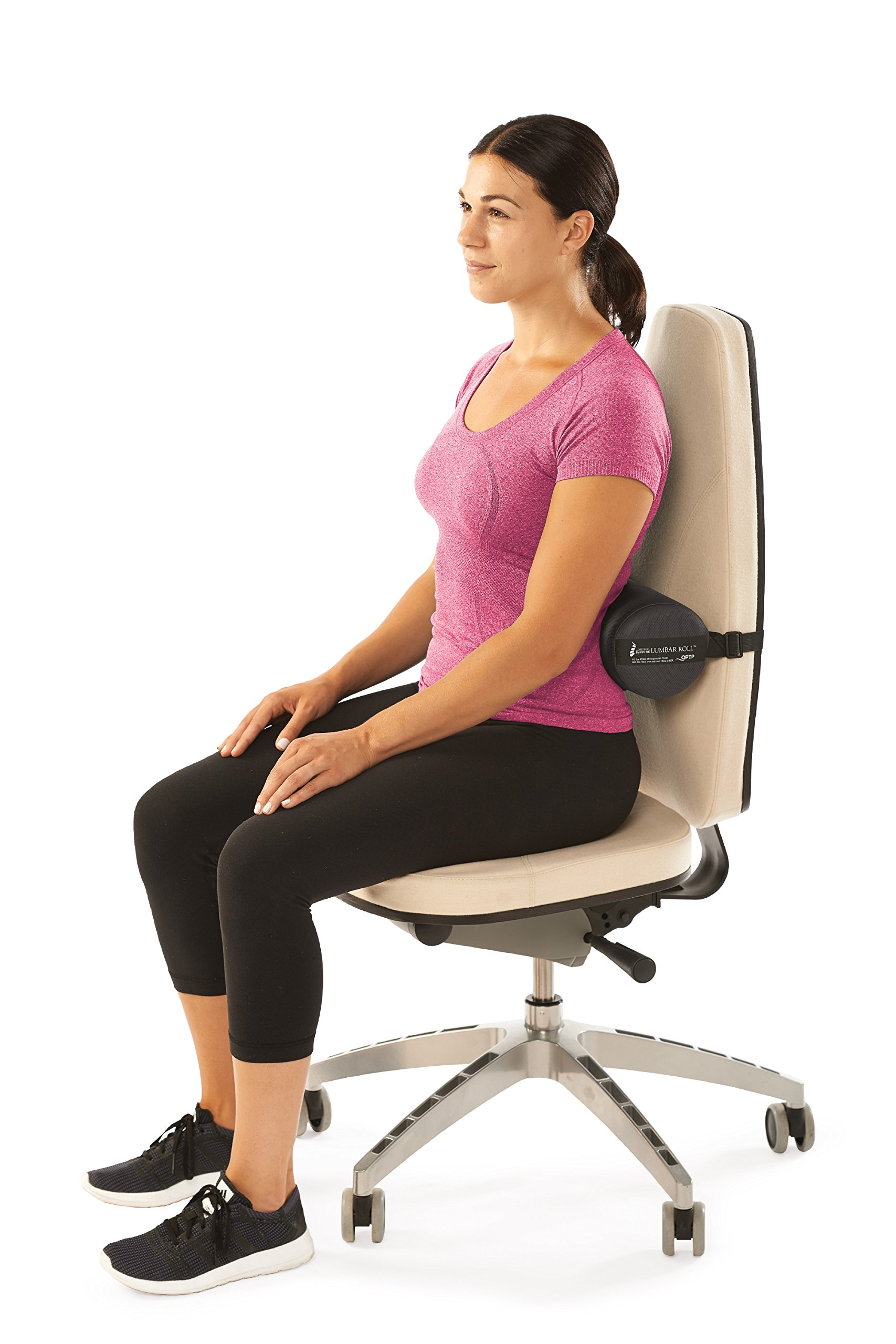 The Original McKenzie Lumbar Roll by OPTP - Low Back Support for Office Chairs and Car Seats by OPTP (Image #3)