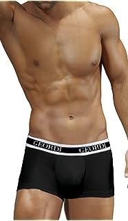 DIANE & GEORDI 5170 Men Underwear Boxer Ropa Interior Hombre Black M