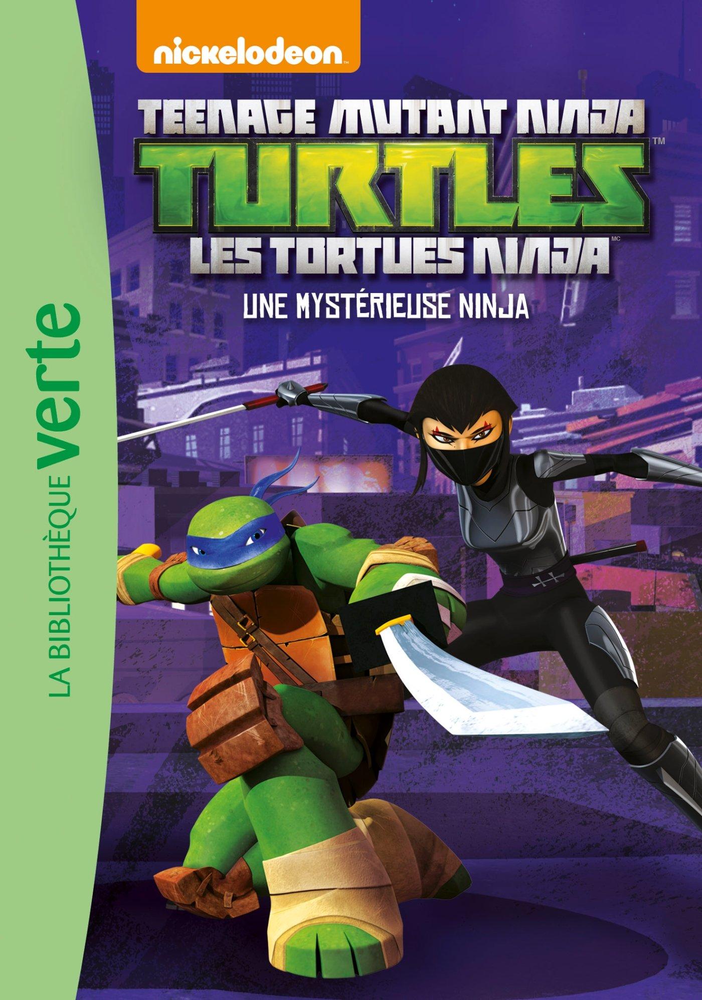 Les Tortues Ninja 07 - Une mystérieuse ninja Ma Première ...