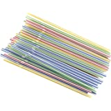 Good Cook 24992 735343276248 Straws, Flexible 50ct, Small, Multicolor