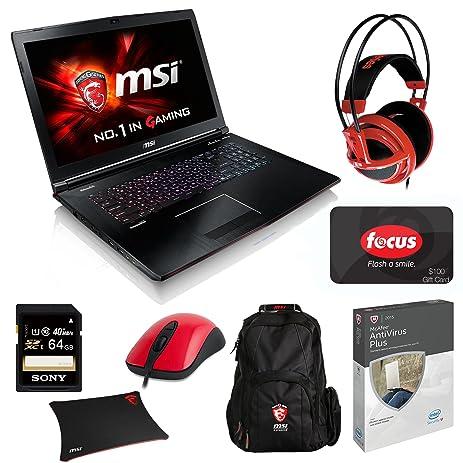 Amazon Com Msi Computer Ge72 Apache 027 17 3 Inch Gaming Laptop