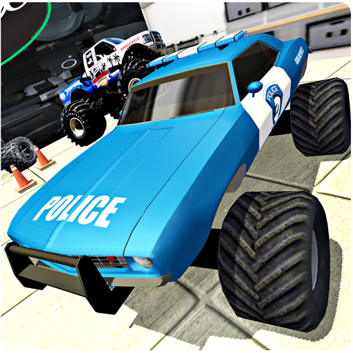 Super Police Truck Offroad Monster Extreme Driving (Fun Driving Games)