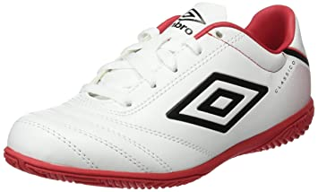 Umbro Umbro Classico V IC JNR Bota IC, Niños, Naranja (Orange Pop)/Blanco/Negro, 31