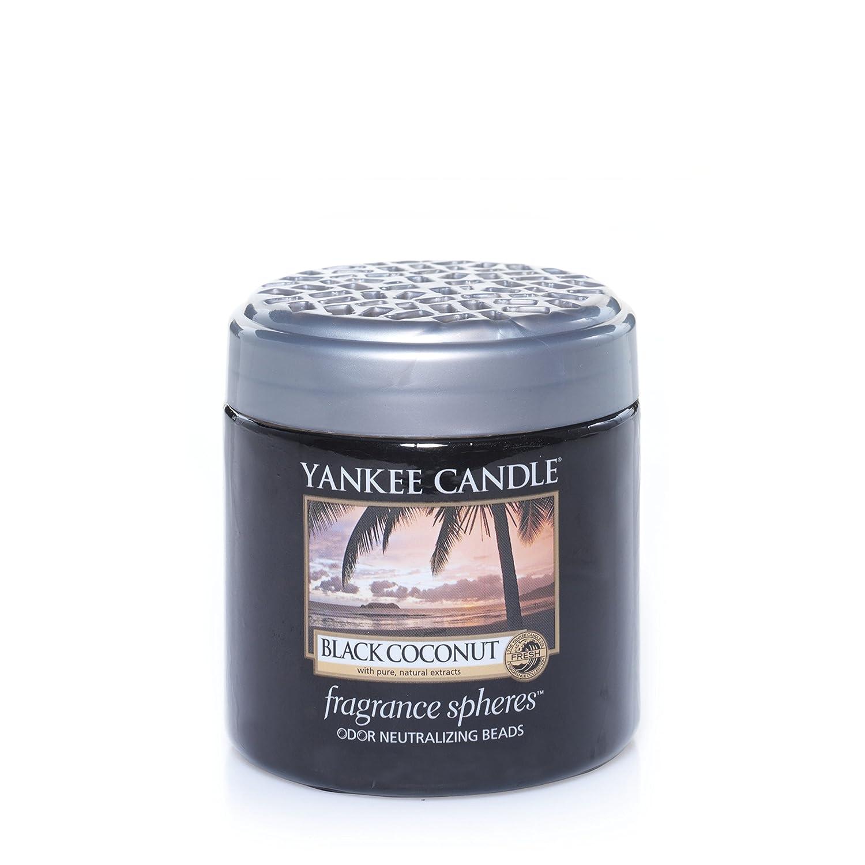 Yankee Candleブラックヤシの実、新鮮な香り付き Fragrance Spheres Odor Neutralizing Beads ブラック 1295642E B00IIEFXMU  Fragrance Spheres Odor Neutralizing Beads