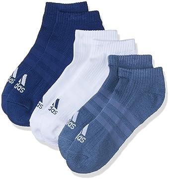 8b097245f adidas Men's 3-Stripes Performance Ankle Socks, 3 Pairs, Noble Indigo/White