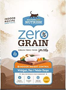 Rachael Ray Nutrish Zero Grain Dry Cat Food, Grain Free