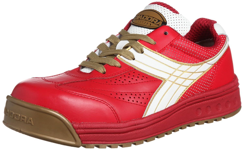[ディアドラユーティリティ] DIADORA UTILITY 作業靴 スニーカー ピーコック PC31 B004GTJ0U2 23.0 cm レッド/ホワイト