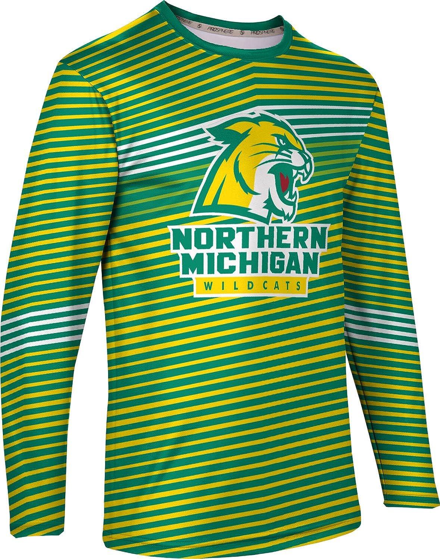 Vector ProSphere Northern Michigan University Mens Long Sleeve Tee