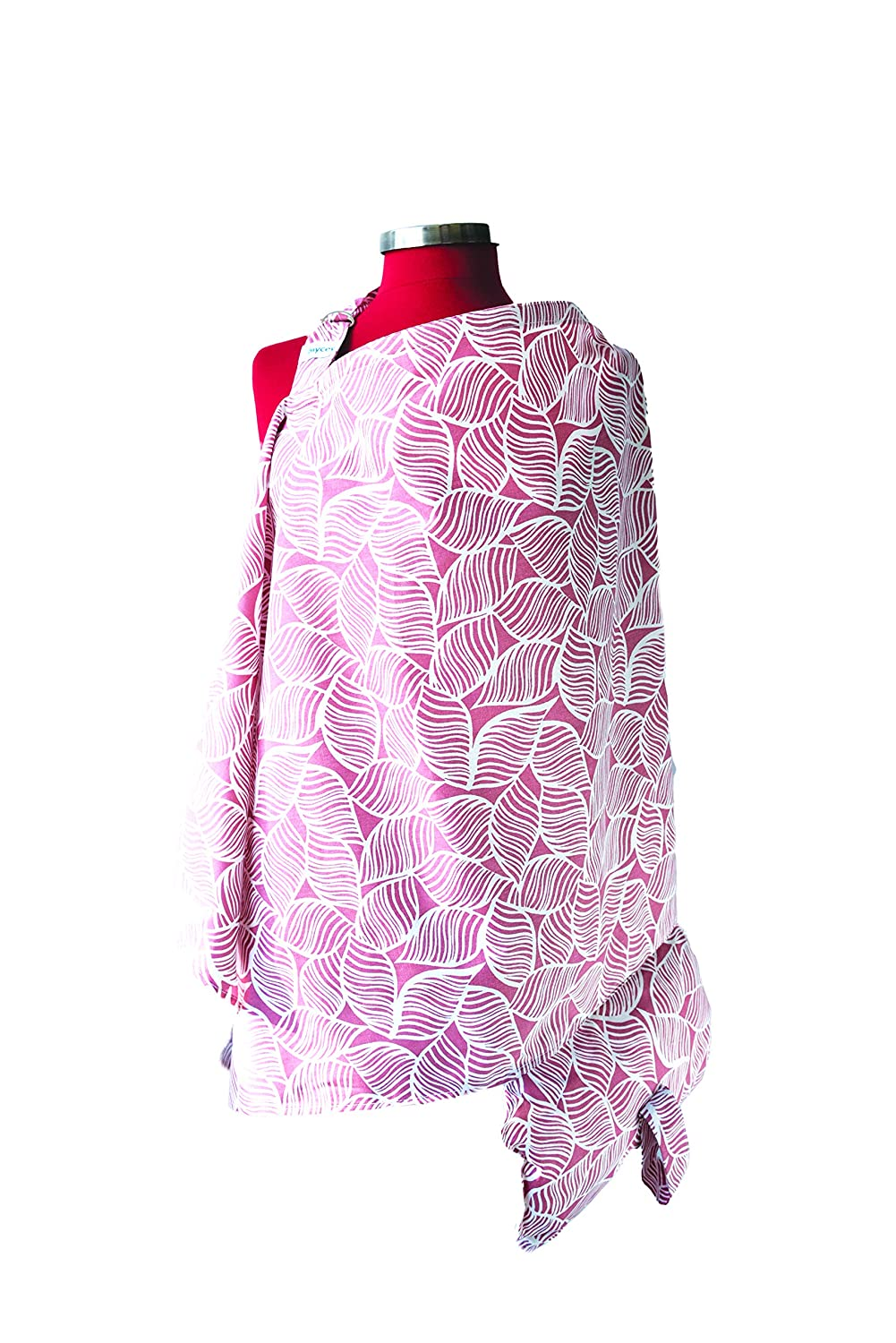 Nursing Apron for Breastfeeding Privacy MYCey Baby Nursing Cover with Pillow Soft 100/% Cotton Parterre