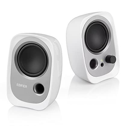 Edifier R12U Stereo Computer Bookshelf Speakers White