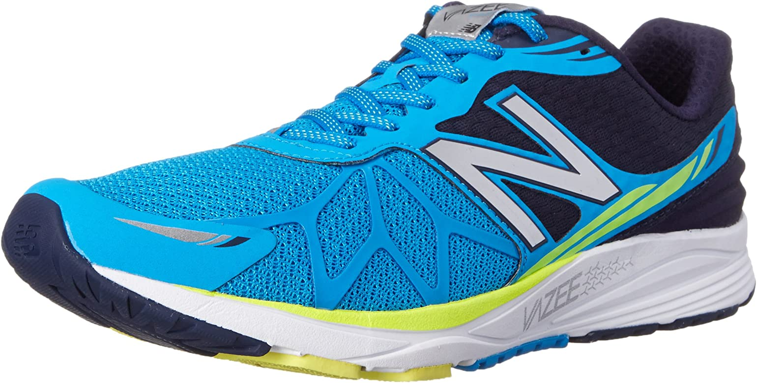 New Balance Mpace D - Zapatillas de correr de lona hombre, azul - Blau (by Blue/yellow), 44: Amazon.es: Zapatos y complementos