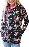 Amazon Price History for:Angashion Women Hoodies-Tops- Floral Printed Long Sleeve Pocket Drawstring Sweatshirt With Pocket