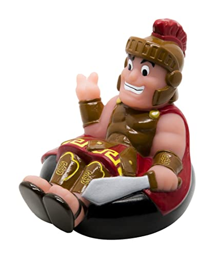 64655799f Amazon.com  Rubber Tubbers USC Tommy Trojan Bath Toy  Toys   Games