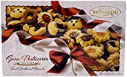 Dolciaria Monardo Assorted Italian Cookies Holiday Gift Box Set | Gourmet Artisanal Cookies | Sugar, Butter, Chocolate Dipped