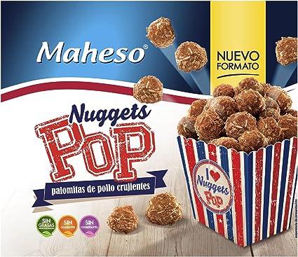 Maheso - Pop nuggets crujientes de pollo - Congelados - 300 g ...