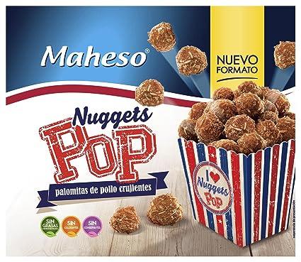 Maheso - Pop nuggets crujientes de pollo - Congelados - 300 g