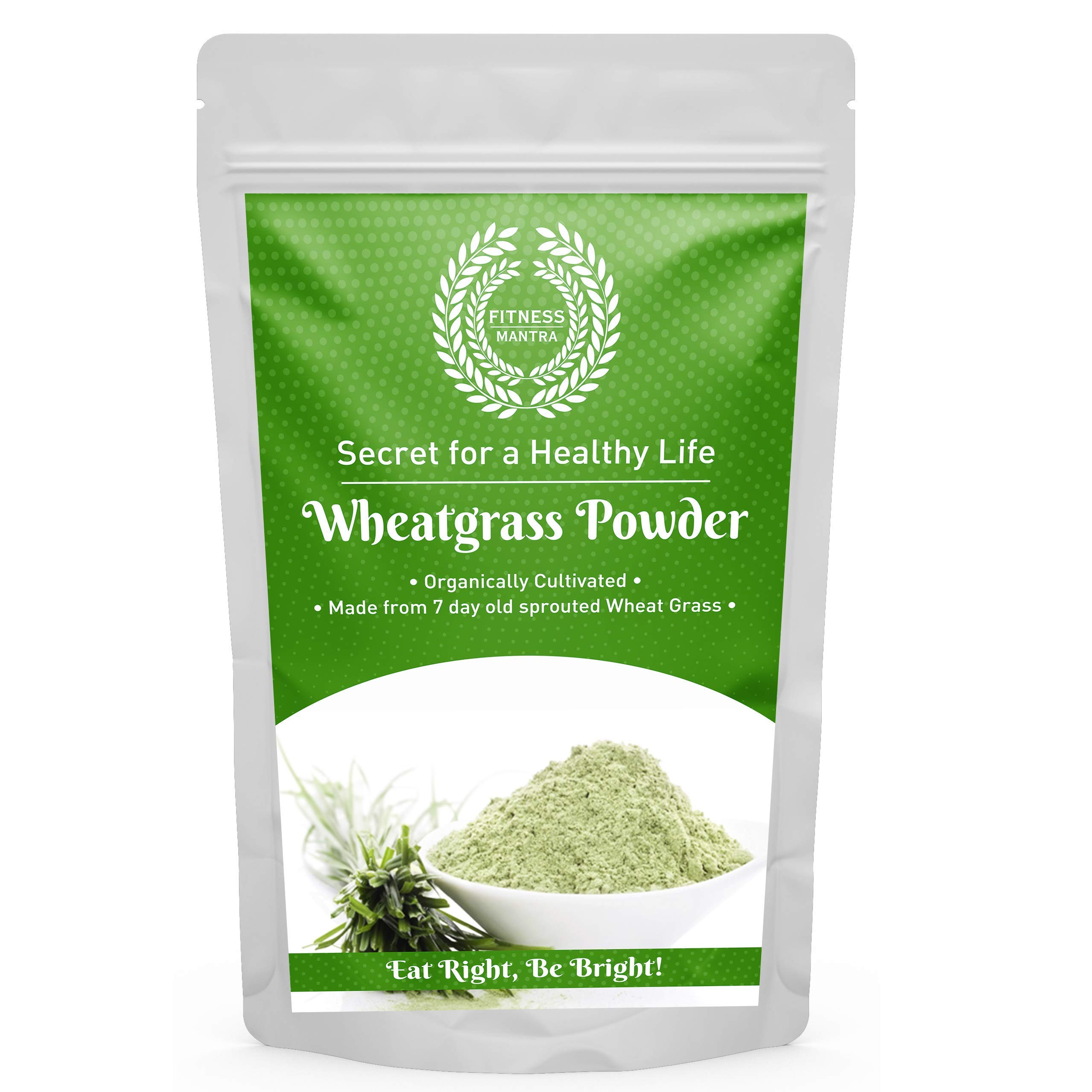 Fitness Mantra Organic Wheat Grass Powder Pouch, 100 g (B07MDR5CD6) Amazon Price History, Amazon Price Tracker