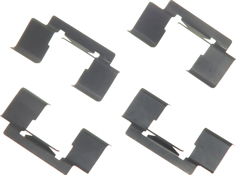 Front Wagner H5674 Disc Brake Hardware Kit