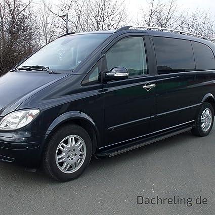 Techo Aluminio en cromo para Mercedes Benz Viano/Vito W639 largo a partir de 2004 también