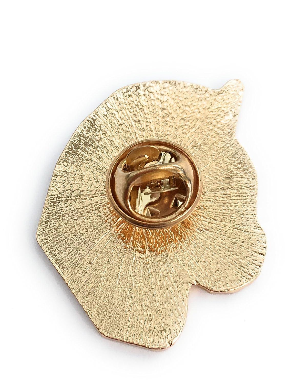 FizzyButton Gifts pin Badge t/ête Licorne crini/ère Arc-en