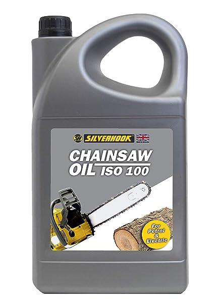 Silverhook shcr5 motosierra Aceite ISO 100, 4.54 Litres: Amazon.es ...