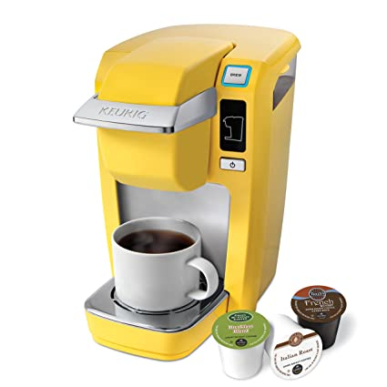 amazon com keurig k10 mini plus brewing system banana yellow rh amazon com Keurig Instruction Manual Keurig Coffee Instruction Manual